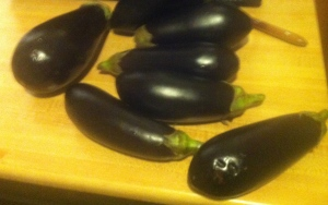 Eggplant. Inanimate, yet subtly intimidating