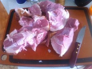 A butcher, I am not.