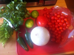A perk of using all these fresh ingredients is that they are absolutely gorgeous to look at.